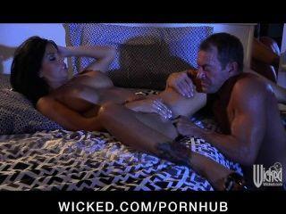 Stunning Big-tit Brunette Mikayla Mendez Rides Big-dick To Orgasm