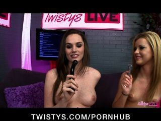 Twistys Live Show With Tori Black, Jessie Rogers & Emily Addison