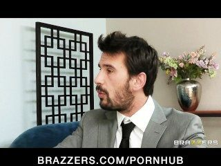 Sexy Big-tit Brunette Diana Prince Fucks Her Financial Adviser