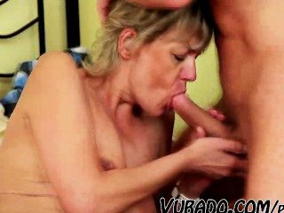 Milf Gets Fucked In Bedroom By Him !!