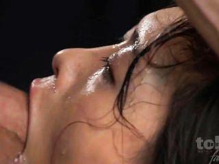 Japanese Girl Brutal Face Fuck: Reika