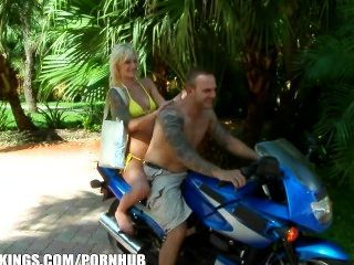 Bikini Clad Bombshell Is Picked Up For Public Sex On The Beach