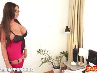 Emma Butt Fucking Hot Milf At Saboom
