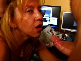 Hairy mature chic gets ass fucked