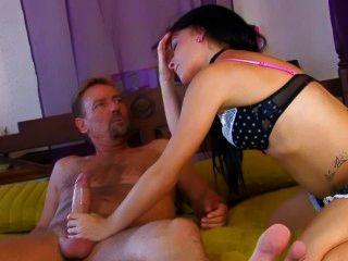 Jordanne Kali Fucks An Older Man An Enjoys His Experienced Dick