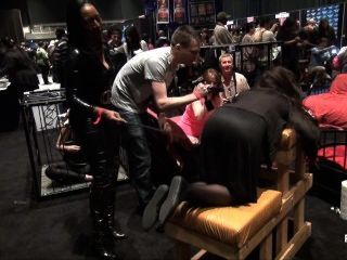 Pornhubtv Intern Madeline Gets Flogged At Exxxotica 2013