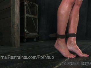 Wenona, Bondage Legend, Bound With Ass Hook