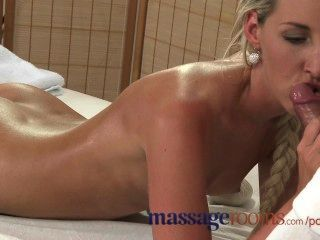 Massage Rooms Innocent Young Girl Has Her Tight Hole Creamed By Horny Guy