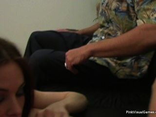Ginger Lea Talks Teen Into 3-way With Her And Hubsband