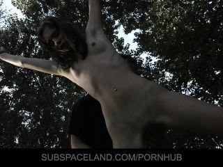 Slave-girl Aspen Fucked In Bondage