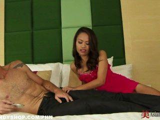 Petite Asian Dolls Covered With Cum