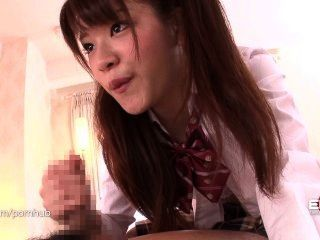 Erito- School Girl Has Her Cake And Eats It Too