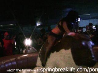 Lingerie Bull Riding