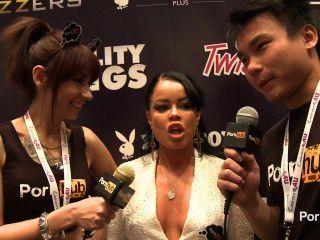 Pornhubtv Nikki Delano Interview At 2014 Avn Awards