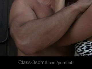 Sexy Nikky And Cayenne Fucks Handsome Boy In Threesome
