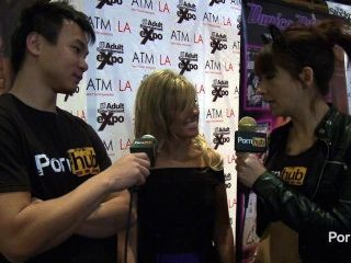 Pornhubtv Aubrey Addams Interview At 2014 Avn Awards
