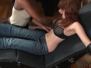 Tickled Redhead Roxanne
