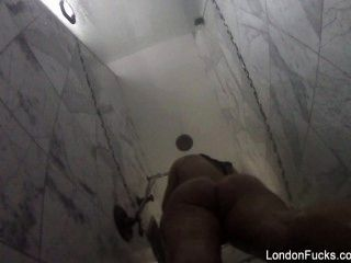 Hot Asian London Keyes Takes A Hidden Camera Shower