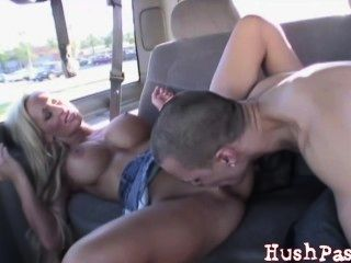 Real Public Sex! Fucking On An Overpass!