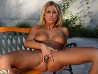 Hot Blonde Girl Strips Off Her Bikini And Finger Fucks