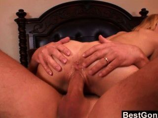 Cute Blonde Kailey Gets A Load On Her Tongue