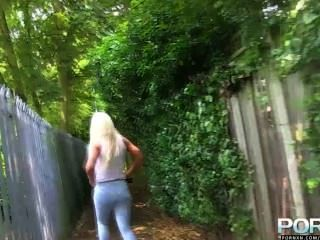 Pornxn Big Tits Blonde Lexi Ryder Pissing In Public