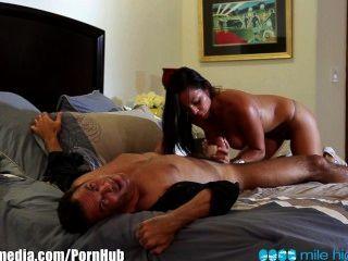 Milehigh Sexy Latina Adrianna Luna Fucked Doggystyle