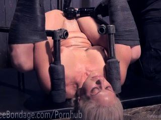 Blonde Milf Helpless And Tormented