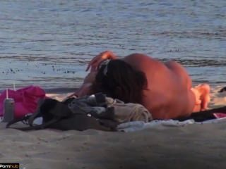 Beach Sex Couple Voyeured