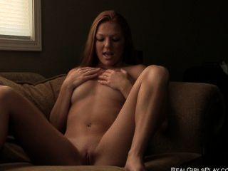 Redhead Babe Farrah- Hard Orgasms And Risky Public Play!