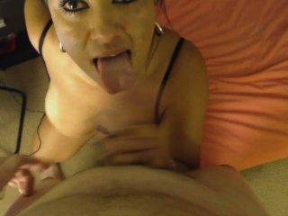 Hot Kiki Sucking Dick Once Again