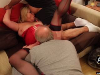 Uk Porn Star Milf Alisha Rydes At An Angels With Horns Gangbang Party