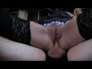 Milf Maid Goes Anal & Drenches Cam