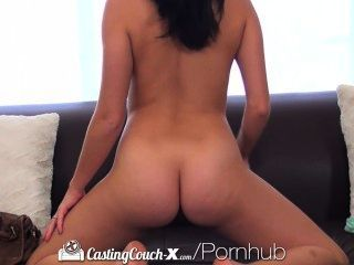 Hd - Castingcouch-x Artistic Megan Rain Wants To Audition For Porn
