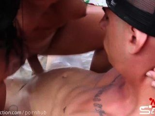 Fucking On The Seashore