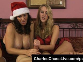 Big Tit Tampa Milf Charlee Chase Helps Give Santa A Double Hj!