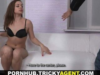 Tricky Agent - Stylish Cutie Who Loves Cock