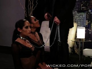Wicked - Two Hot Babes On A Leash