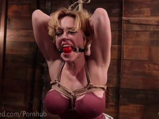Charming topic Blonde milf bondage remarkable, very