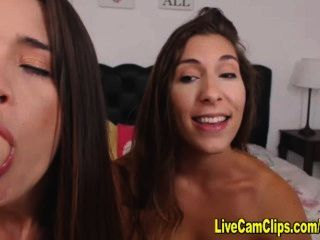 Smoking Hot Girl On Girl Sex, Lesbian Dildo Party!
