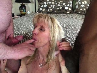 Doube Creampie And A Mouthful Odf Cum