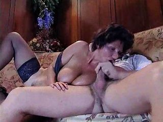 Busty Milf Sucks And Fucks Her Friend