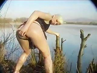 German Amateur Outdoor Anal Fuck