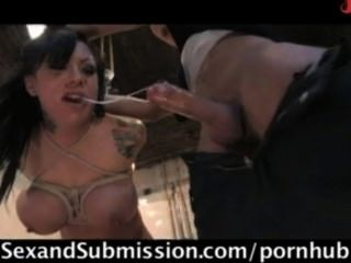 Busty Prisoners Bound And Fucked In Prison.