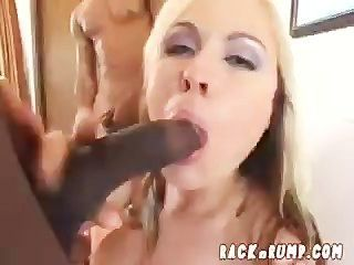 Blonde Gets 3 Bbc In All Her Holes