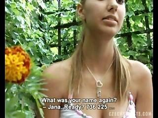 Czech Streets - Jana