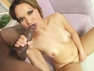 Rosario Stone Gets Pounded With A Hard Black Cock