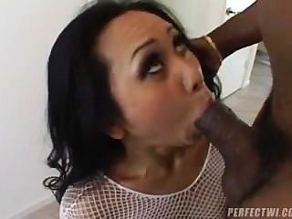 Asian Milf Conquers Black Dick