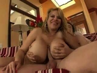Busty Cougar Crystal Ashley