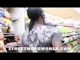 Amateur Does First Video After Beig Picked Up In Supermarket